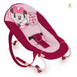 Leżaczek Rocky Disney minnie pink II