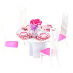 Jedáleň pre bábiky Glorie