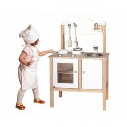 Dřevěná kuchyňka bílá