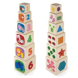 Dřevěná stavěcí vež