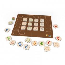 Dřevěná hra - abeceda