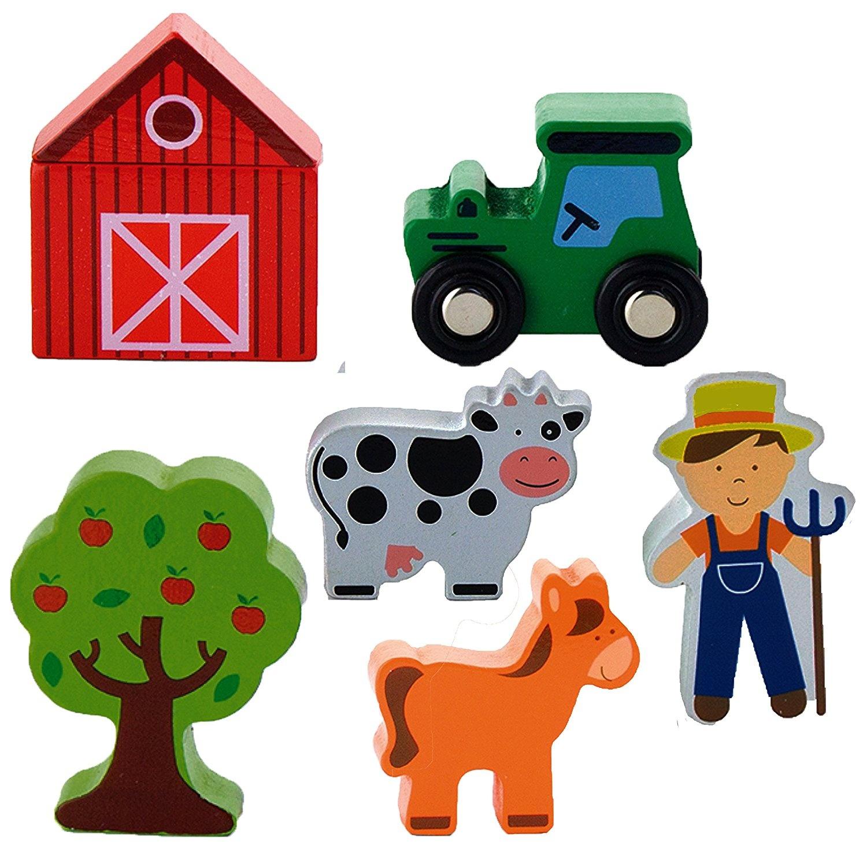 Dřevěné doplňky - farma