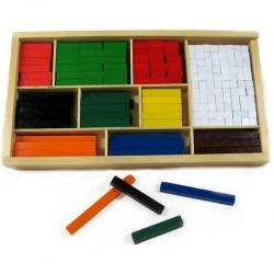Dřevěné matematické kostky