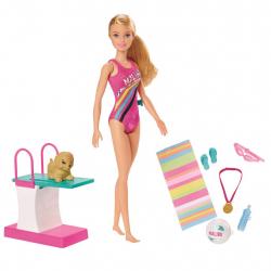 Barbie plavkyňa