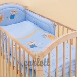 Komplet 3 częściowy do łóżeczka Jurek - niebieski