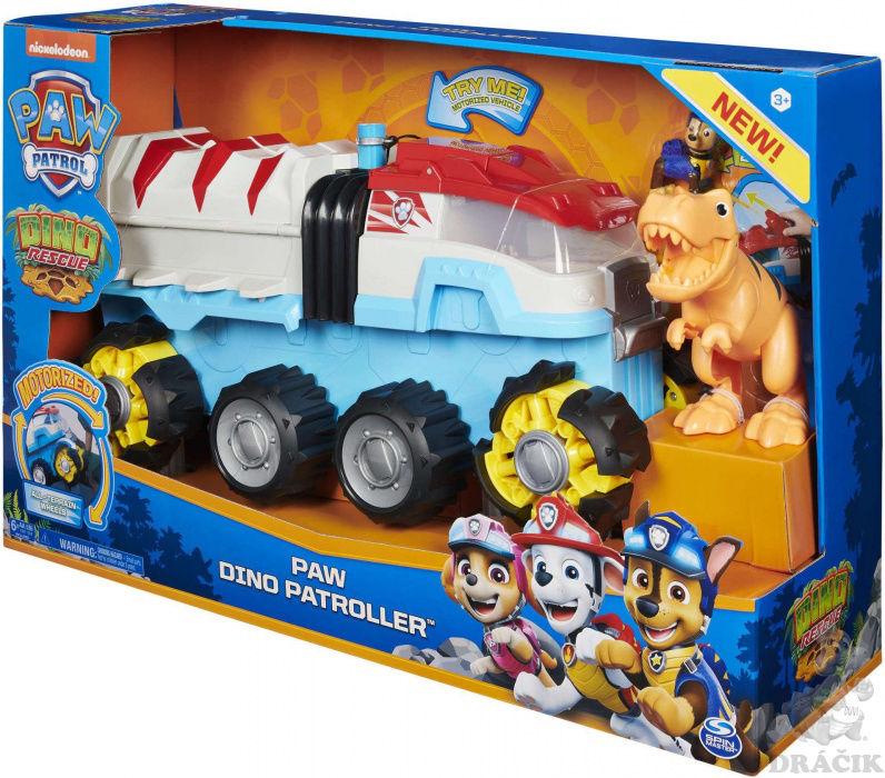 Psi Patrol Patrolowiec Dino Rescue + figurki Chase i Dinozaur 6058905