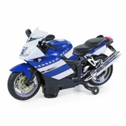 kovová motorka