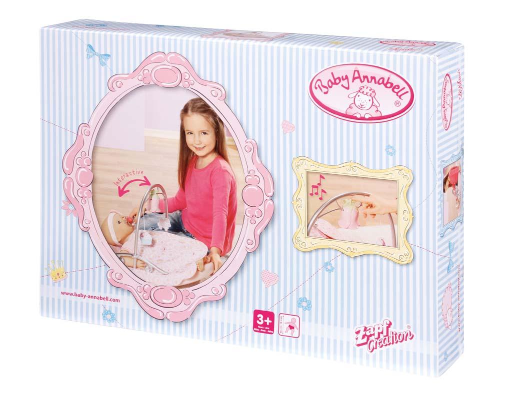Baby Annabell Kolébka s hrací květinou 792100