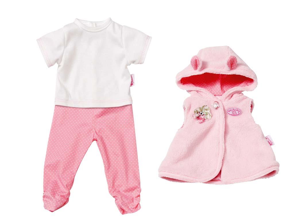 Baby Annabell Obleček se zaječími oušky 794050, 46cm