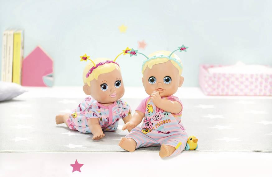 BABY born® Funny Faces Poskakující panenka, 826164