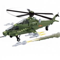 Klocki AUSINI Helikopter wojskowy, 482 elementy