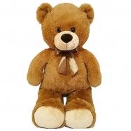 Medvěd plyšový 80cm s mašlí 0m+ v sáčku