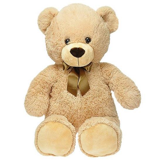 fe333c09f Medveď plyšový 80cm s mašľou 0m + v sáčku