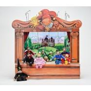 Gerlichovo bábkové divadlo + 8 bábok