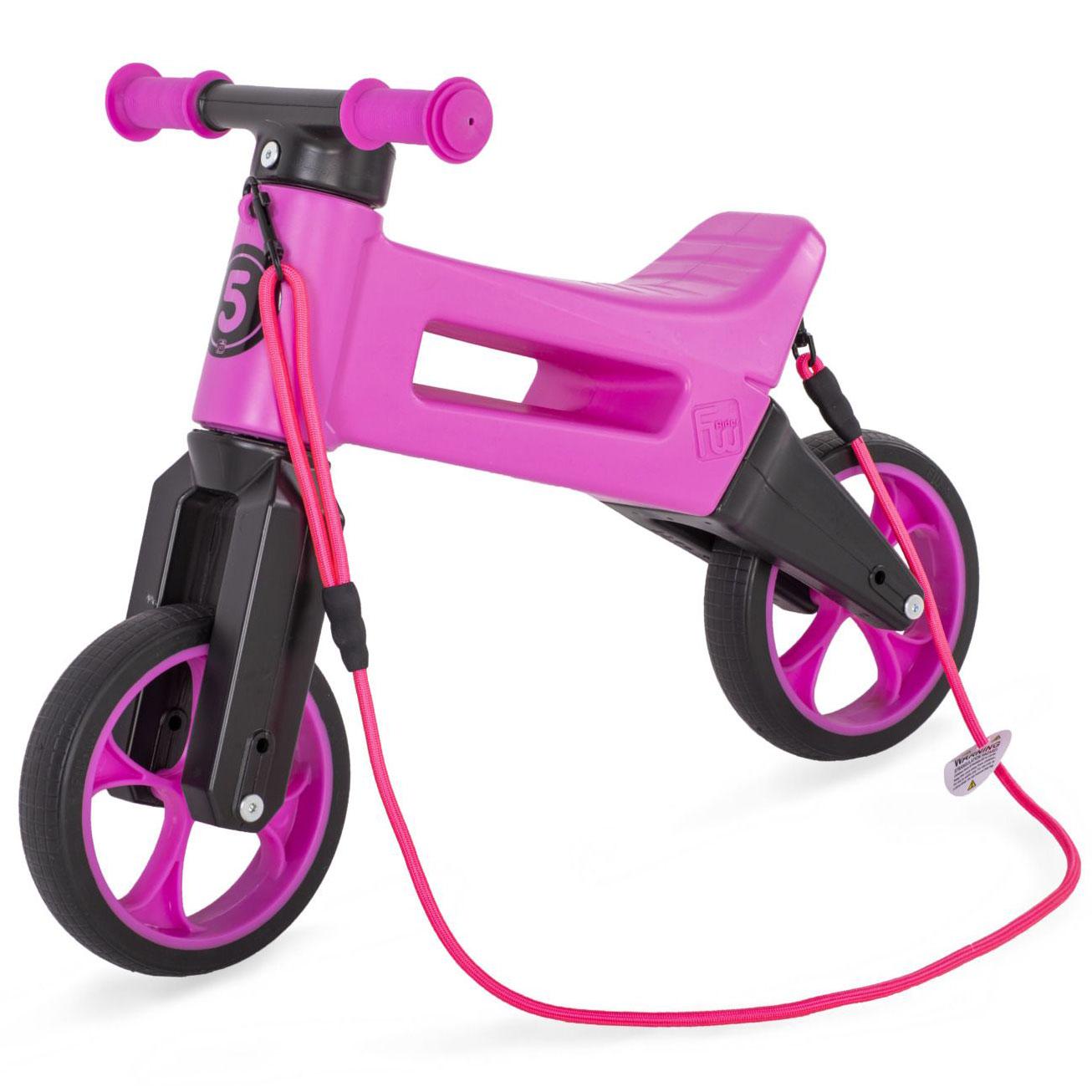 Odrážadlo FUNNY WHEELS Rider SuperSport fialové 2v1