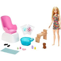 Barbie Manikúra/pedikúra herní set