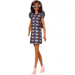 Barbie Modelka - šaty s myškou
