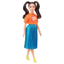 Barbie Modelka - zářivé šaty