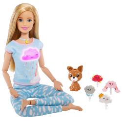 Barbie Wellness bábika a meditácie