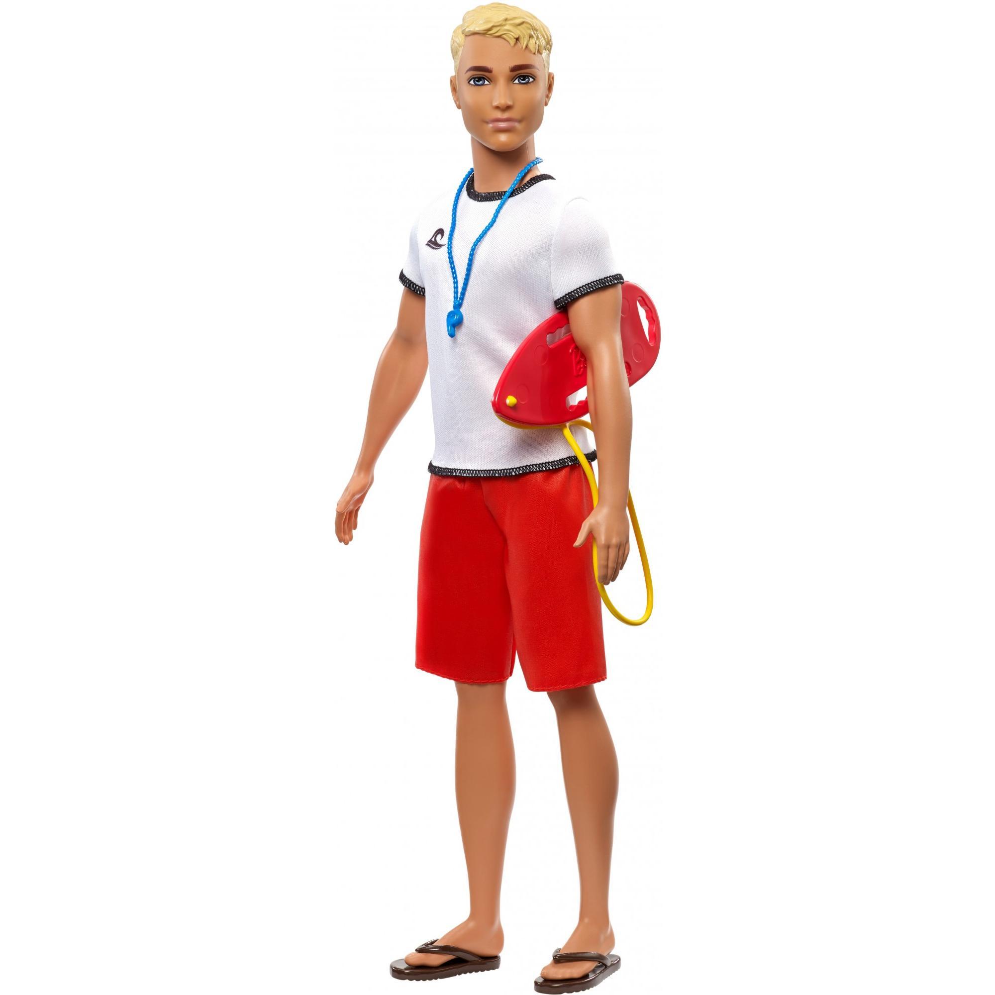 Barbie Ken Povolání Záchranář