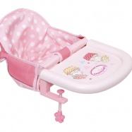 Baby Annabell® Jídelní židlička s uchycením na stůl 701126