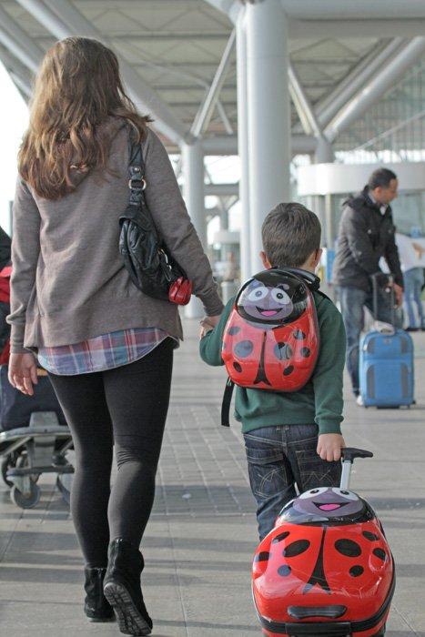 Dětský kufr Beruška