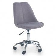 Halmar Dětská otočná židle COCO 4 šedá