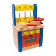 Dětská kuchyňka dřevěná 6165