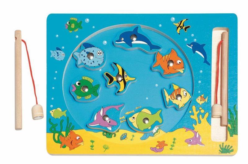 Gra Rybki morskie na magnes