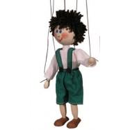 Marionetka drewniana Jaś