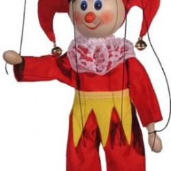 Marionetka drewniana Kaszparek I, 20 cm