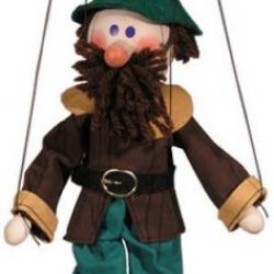 Marionetka drewniana Złodziej