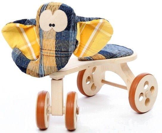 Dřevěné odrážedlo Slon