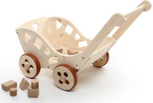 Dětský dřevěný vozík Maxim