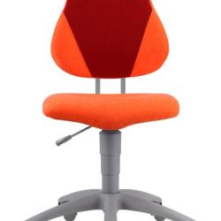 Rosnące krzesełko Alba Fuxo Suedine pomarańczowo-bordowe 46/29 - 002