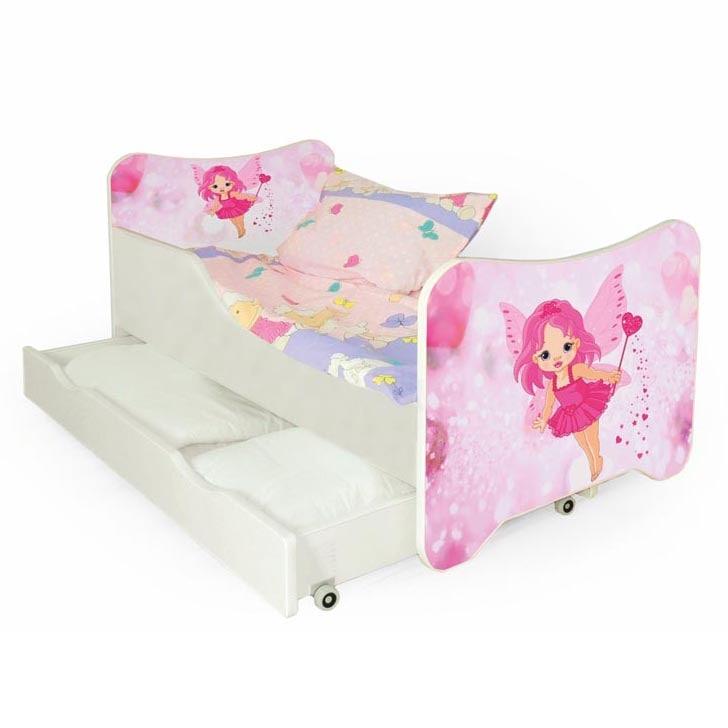 Halmar Dětská postel HAPPY FAIRY s šuplíky