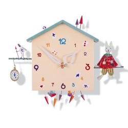 Závěsné hodiny - Králík