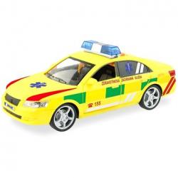 Ambulancia - rýchle osobné auto