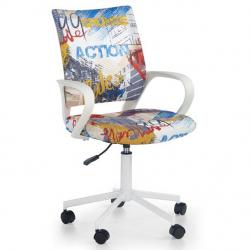 Halmar Detská otočná stolička IBIS FREESTYLE