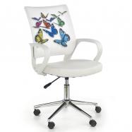 Halmar Dětská otočná židle IBIS BUTTERFLY