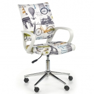 Halmar Dětská otočná židle IBIS PARIS