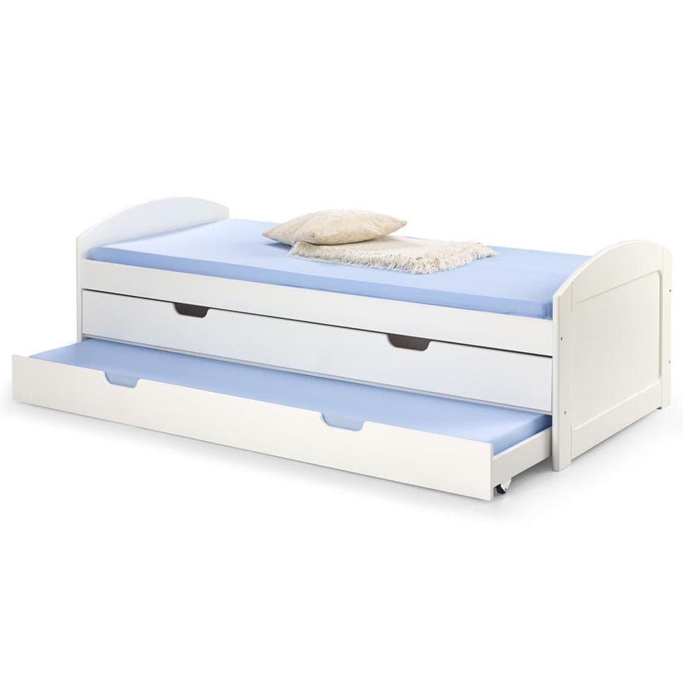 Halmar Dětská postel LAGUNA bílá