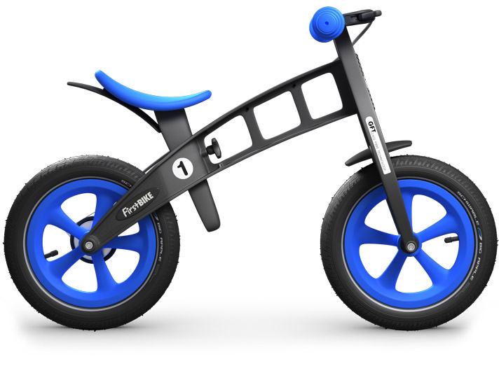 First Bike  LIMITED EDITION Blue s brzdou