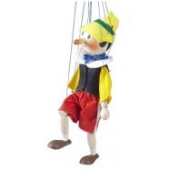 Drevená loutka 35 cm Pinokio