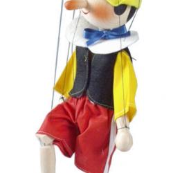 Dřevěná loutka 35 cm Pinokio