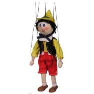 Dřevěná loutka Pinokio III