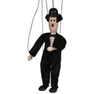 Dřevěná loutka Chaplin