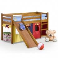 Halmar Dětská patrová postel Neo se skluzavkou