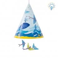 Závěsné svítidlo - Velryba