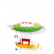 Závěsná dekorace - Vzducholoď